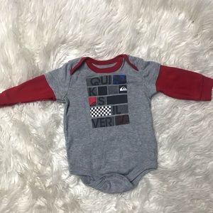 Quicksilver | Cute boys onesie size 12 months